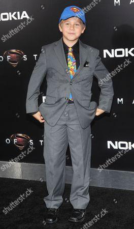 Editorial photo of 'Man of Steel' film premiere, New York, America - 10 Jun 2013