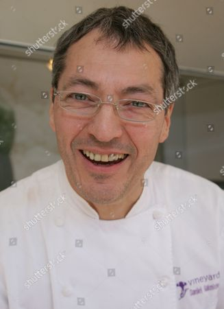 Editorial picture of Daniel Galmiche cooking demonstration at Eat Live, Reading, Britain - 08 Jun 2013