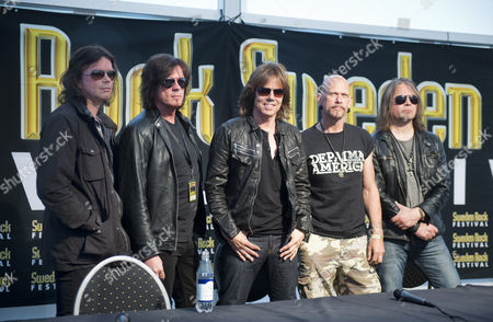 Europe - John Norum, John Levén, Joey Tempest, Ian Haugland and Mic Michaeli