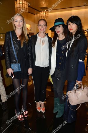 Editorial picture of Chanel flagship boutique opening, London, Britain - 10 Jun 2013