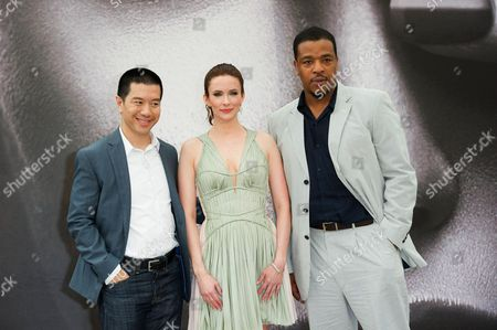 Reggie Lee, Bitsie Tulloch and Russel Hornsby
