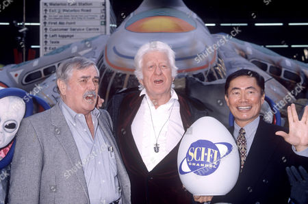 James Doohan, Jon Pertwee and George Takei