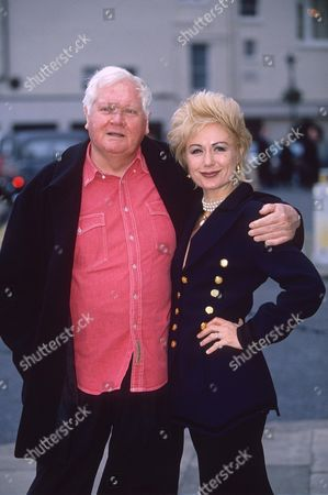 KEN RUSSELL WITH HIS WIFE HETTY BAYNES