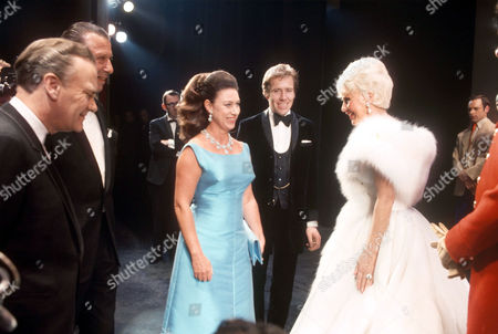 PRINCESS MARGARET, LORD SNOWDON AND GINGER ROGERS