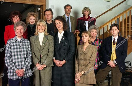 Stock Image of CAMILLA PARKER BOWLES, MAGGIE PHILBIN, MOIRS SHEARER, RANULPH FIENNES, PAT COOMBS, LYNN FAULDS, CLAIRE RAYNER, ANTHONY HEAD