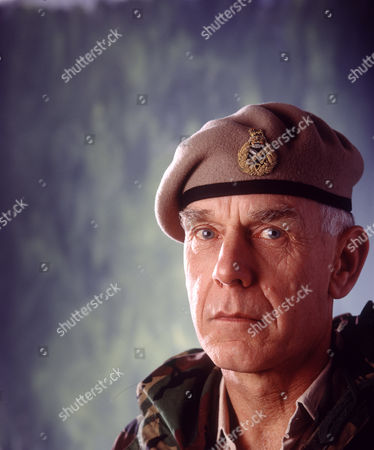 Stock Photo of MAJOR GENERAL ,SIR PETER DE LA BILLIERE
