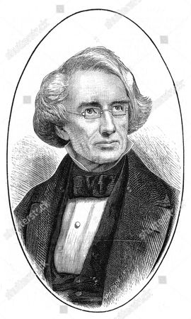 Samuel Finley Breese Morse (1791-1872), American artist and inventor. Inventor of the first functional electric telegraph , 1835 and, with Alexander Bain (1810-1977), of the Morse code. From The Science Record (New York, 1873). Wood engraving.