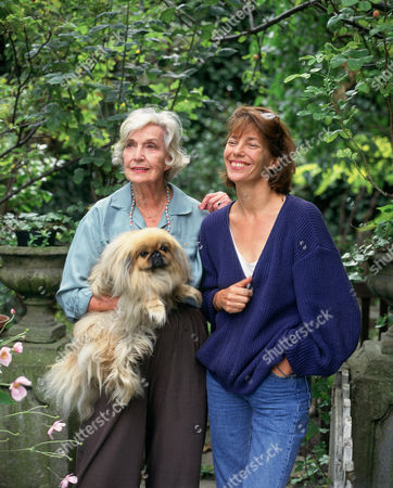 Jane Birkin and her mother Judy Campbell