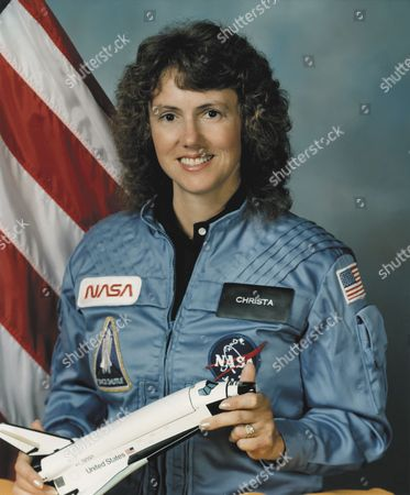 Stock Picture of Christa McAuliffe