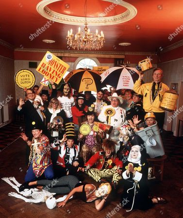 SCREAMING LORD SUTCH WITH MEMBERS OF THE MONSTER RAVING LOONY PARTY