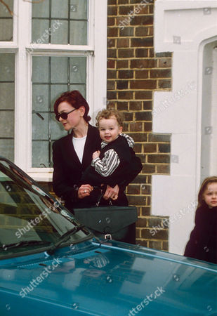 MARINA OGILVY WITH CHILDREN ZENOUSKA AND CHRISTIAN