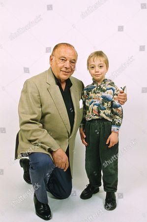 Herbert Lom and son Barney