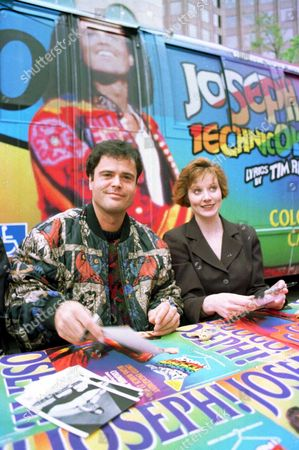 Stock Picture of DONNY OSMOND AND DONNA KANE