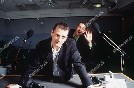Stock Photo of MARK RADCLIFFE WITH MARC RILEY