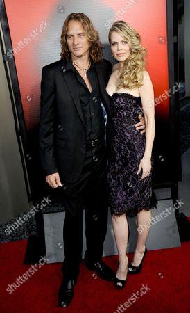 Kristin Bauer van Straten and husband Abri van Straten