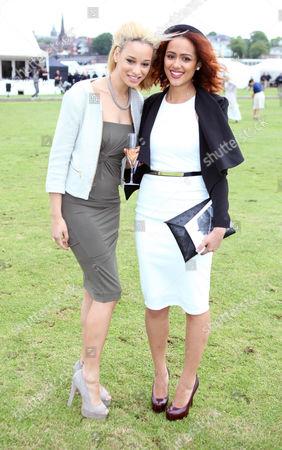 Elarica Gallacher and Nathalie Emmanuel