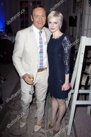 Kevin Spacey (Artistic Director) and Louise Dylan (Heavenly Finley)