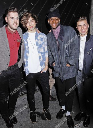 George Shelley and The Loveable Rogues - Sonny Jay, Te Eugene (Tay) and Eddie Brett