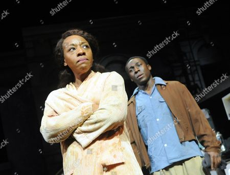 Marianne Jean-Baptiste as Margaret, Eric Kofi Abrefa as David
