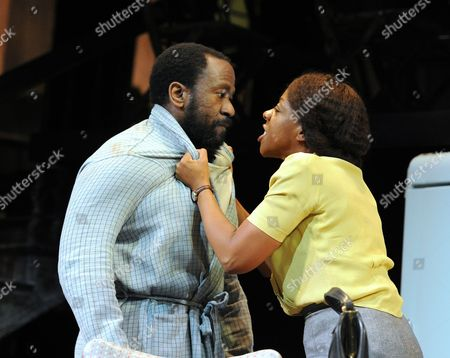 Lucian Msamati as Luke, Marianne Jean-Baptiste as Margaret