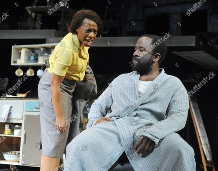 Marianne Jean-Baptiste as Margaret, Lucian Msamati as Luke