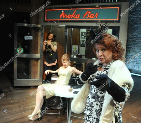 Badria Timimi as Waitress, Sarah Ridgeway as Truly, Ishia Bennison as Mrs Kidman