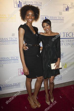 Stock Image of Adaora Cobb and Alicia Quarles