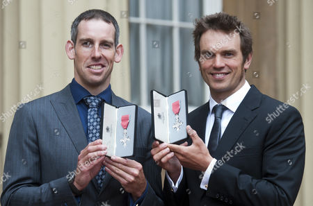 Olympic Slalom-Canoeists Etienne Stott and Timothy Baillie are both awarded MBEs
