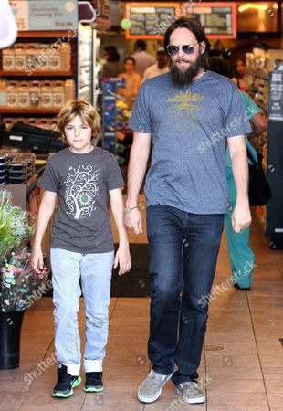 Chris Robinson with son Ryder Russell Robinson