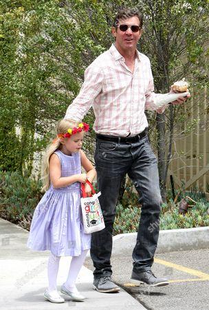 Dennis Quaid and Zoe Grace Quaid