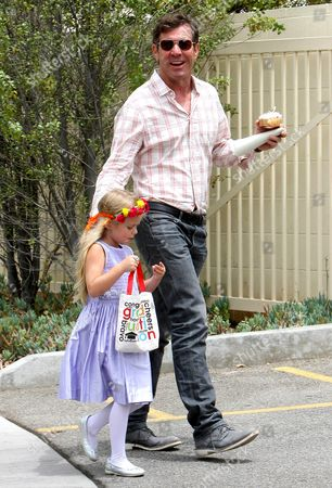 Editorial image of Dennis Quaid out and about in Los Angeles, America - 13 Jun 2013