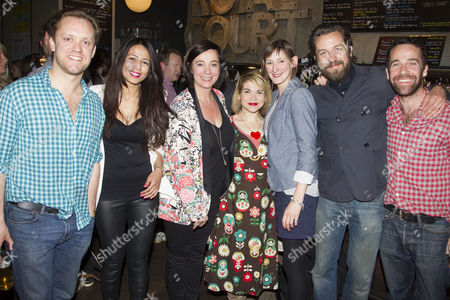 Editorial image of 'The President Has Come To See You' play after party, Open Court Festival launch, Royal Court Theatre, London, Britain - 13 Jun 2013