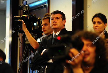Chelsea Chief Executive Ron Gourlay looks on