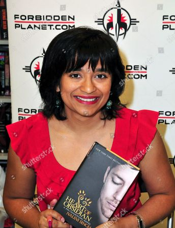 Editorial picture of 'Heart of Obsidian' book signing, London, Britain - 14 Jun 2013