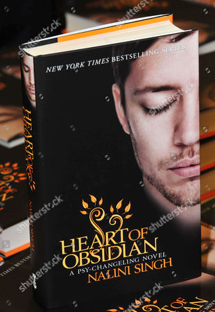 Editorial photo of 'Heart of Obsidian' book signing, London, Britain - 14 Jun 2013