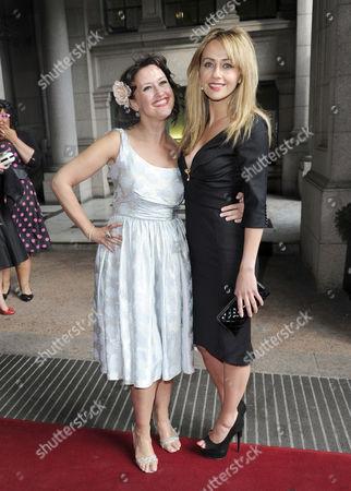 Angela Lonsdale and Samia Ghadie