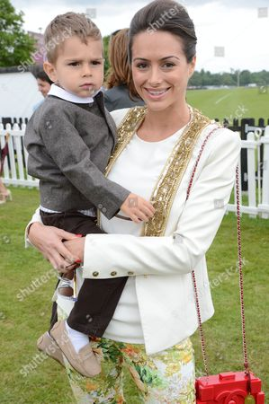 Saskia Boxford and son River