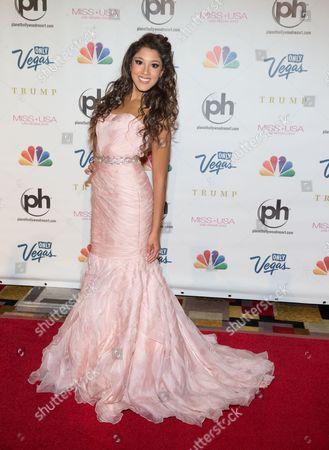 Editorial image of Miss USA beauty pageant contest, Las Vegas, America - 16 Jun 2013