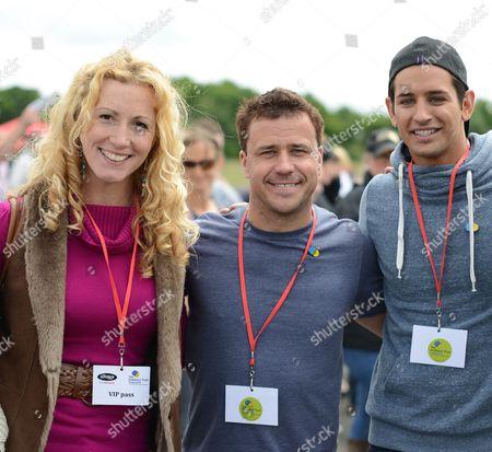 Editorial image of The Children's Trust Supercar Event at Dunsfold Park, Surrey, Britain - 16 Jun 2013
