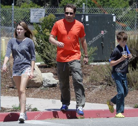 David Duchovny, Kyd Miller Duchovny, Madelaine West Duchovny