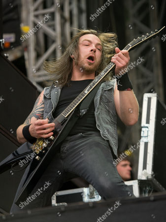 """Bullet for My Valentine - Michael Paget (also know as """"Padge"""")"""