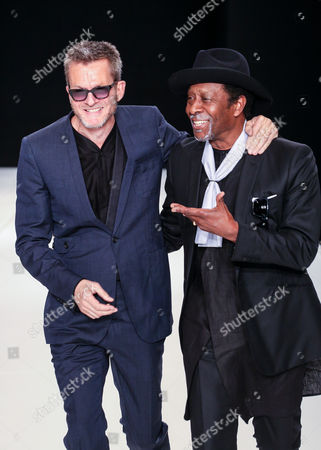 Spencer Hart and Clarke Peters