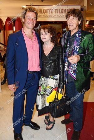 Stock Image of Dominic West, Helena Bonham Carter and Lance Tilbury