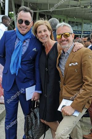 Stock Photo of David Furnish, Jo Levine and Patrick Cox