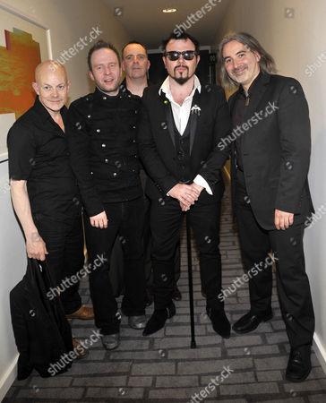 Jack Lukeman and his band