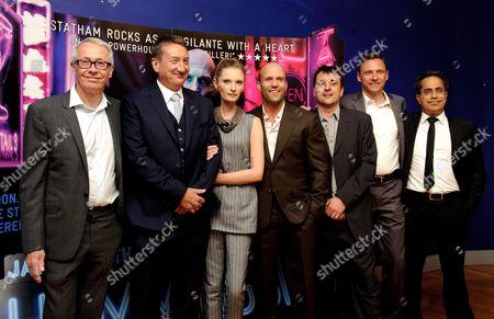 Paul Webster, Steven Knight, Agata Buzek, Jason Statham and Guy Heeley