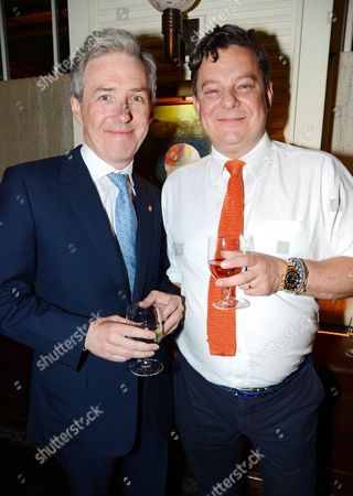 Stock Picture of Bill Prince and Robert Johnstone