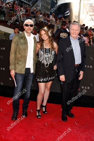 James Haven, Ashley Reign and Jon Voight
