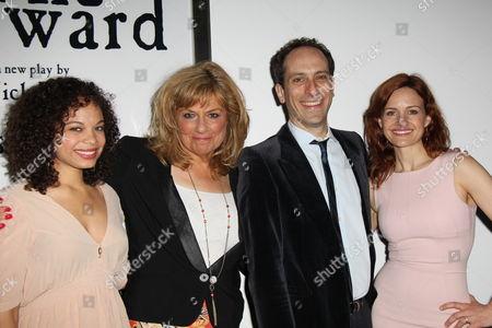 Stock Photo of Michelle Beck, Caroline Aaron, Peter Grosz, Carla Gugino