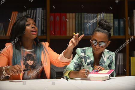 Stock Photo of Reginae Carter and Bria Williams